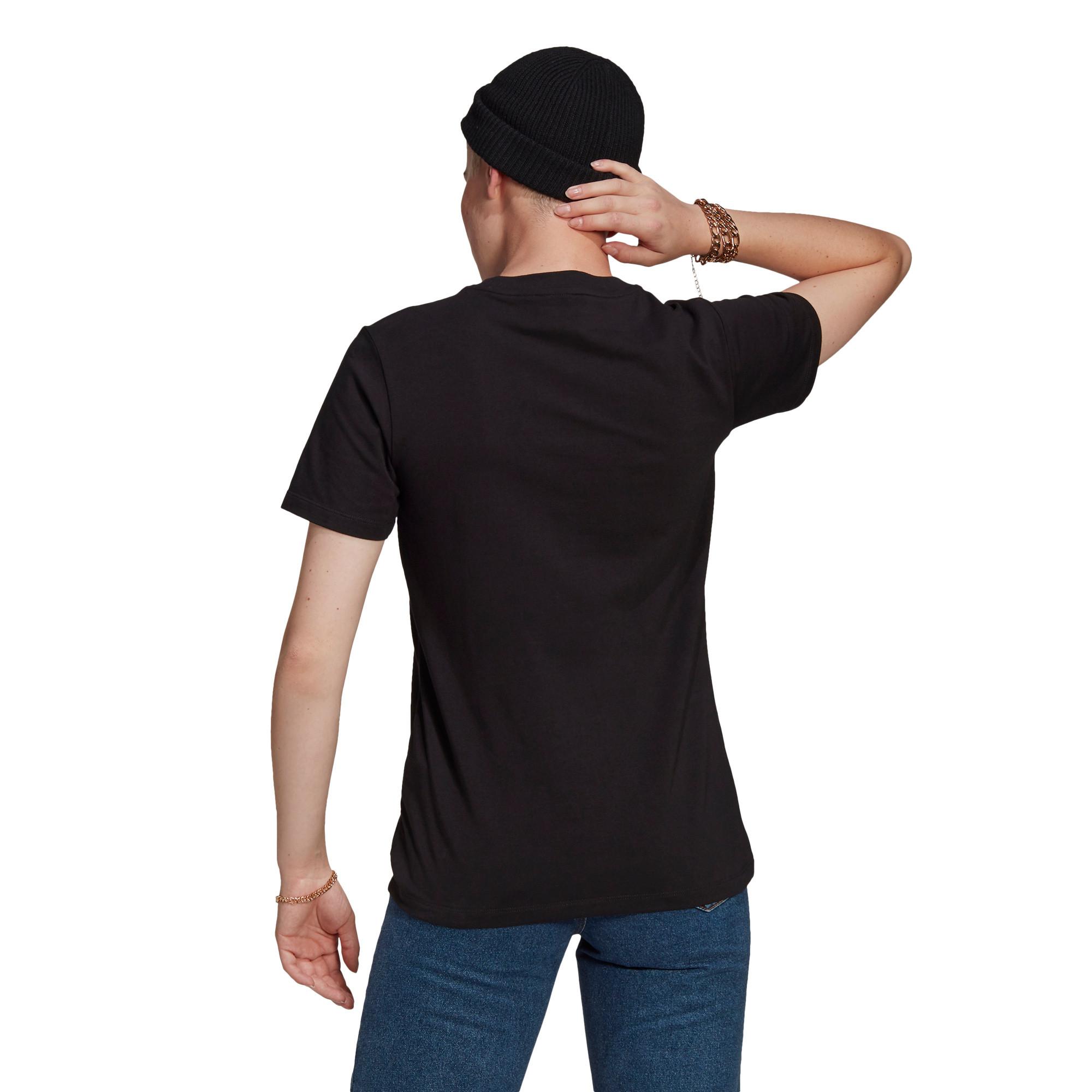 T-shirt adicolor Classics Trefoil, Nero, large image number 1