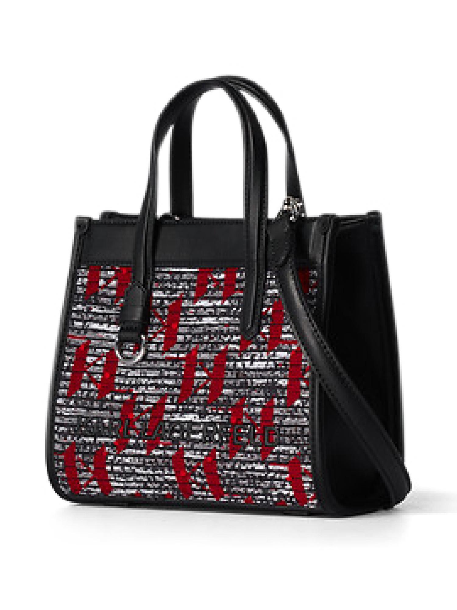 Tote bag piccola K/Skuare, Rosso, large image number 1