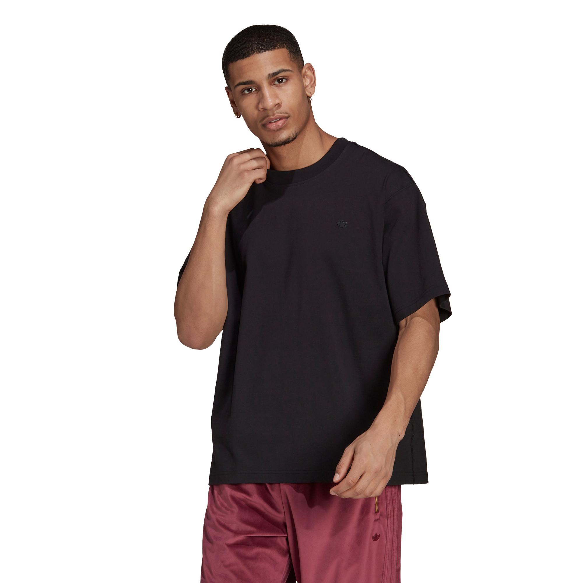 T-shirt uomo adicolor Trefoil, Nero, large image number 1