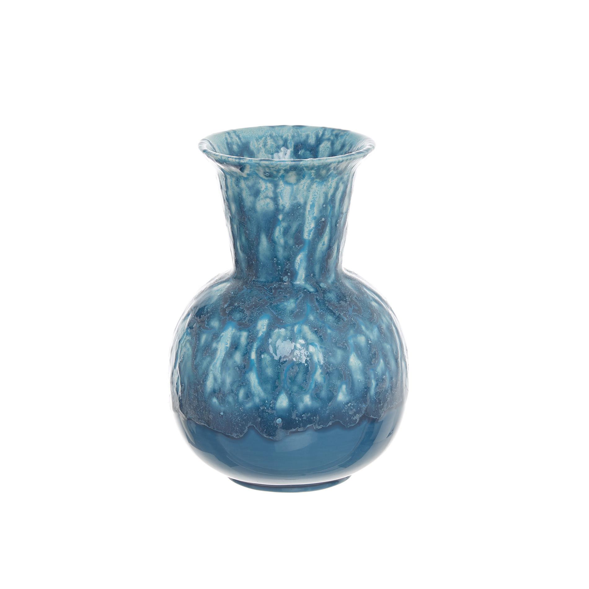Vaso ceramica artigianale portoghese, Trasparente, large image number 1