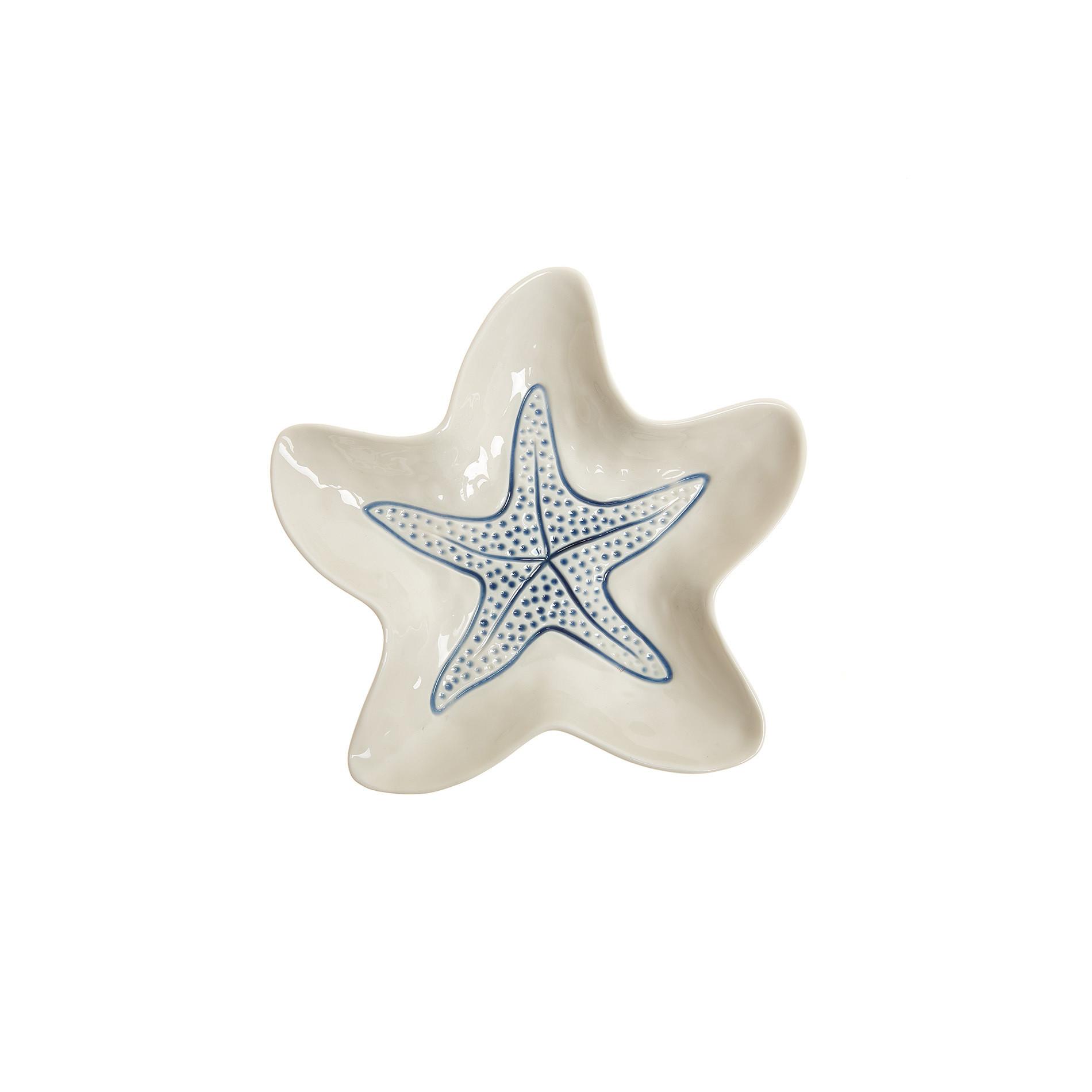 Coppetta porcellana a stella marina, Bianco, large image number 0