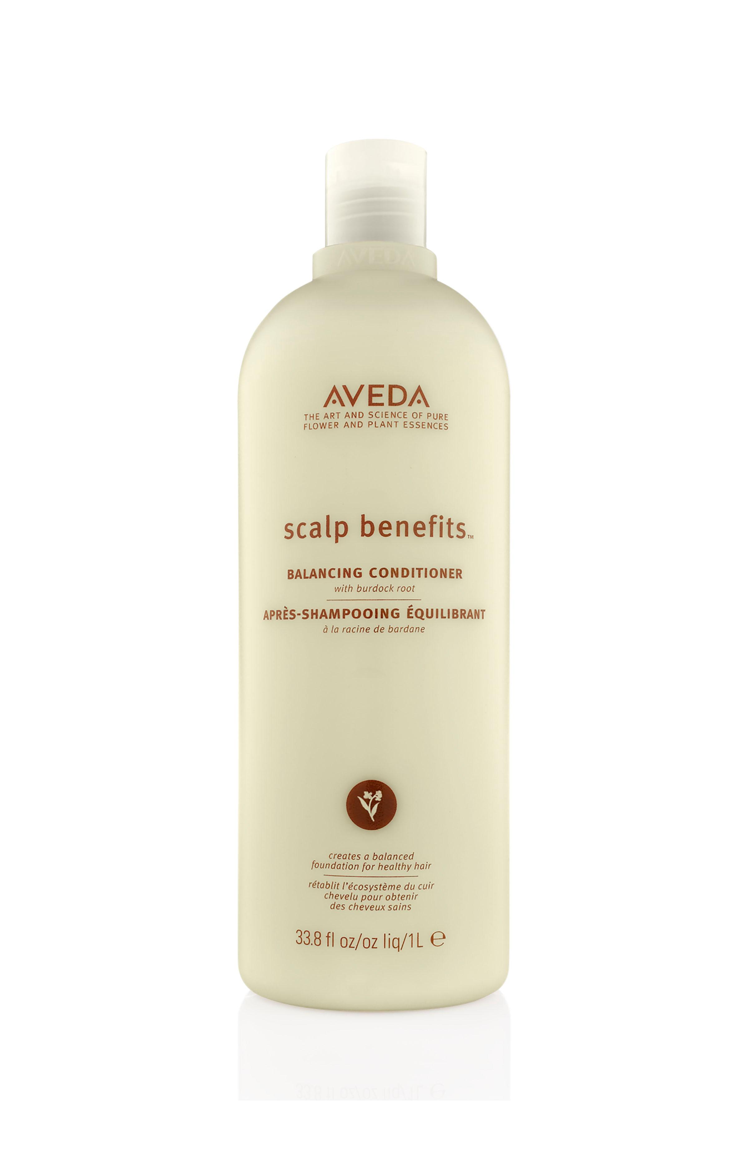 Aveda scalp benefits balsamo riequilibrante 1000 ml, Beige, large image number 0