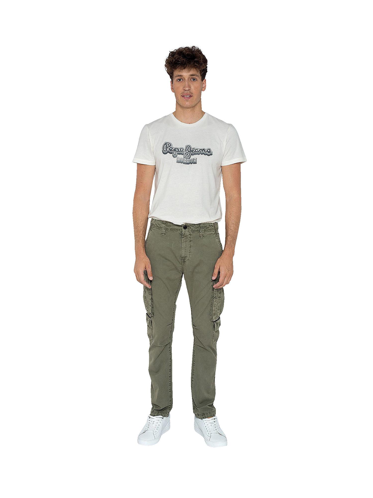 Pantalone 5 tasche, Verde, large image number 3