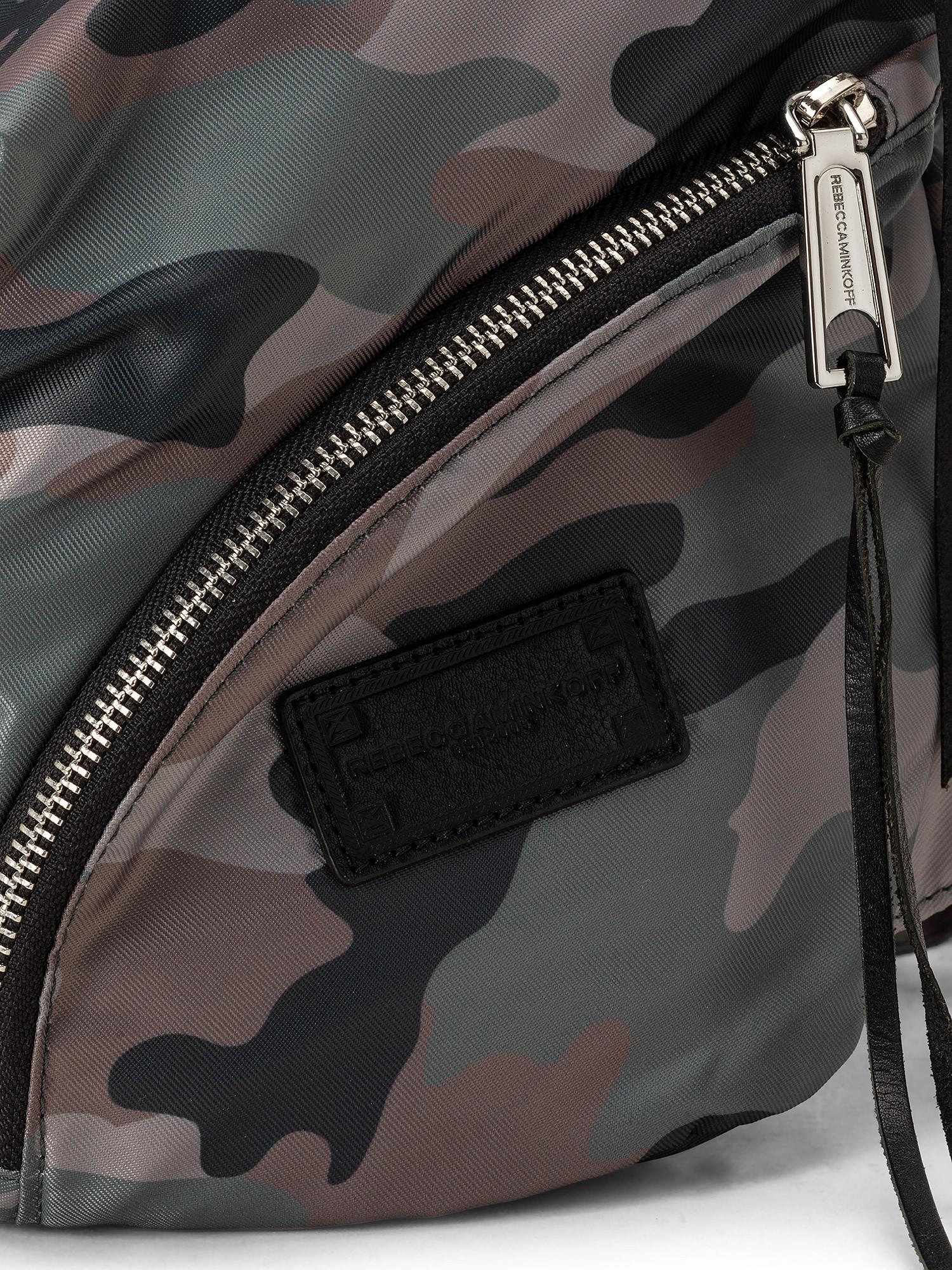 Julian Nylon Backpack, Verde, large image number 2