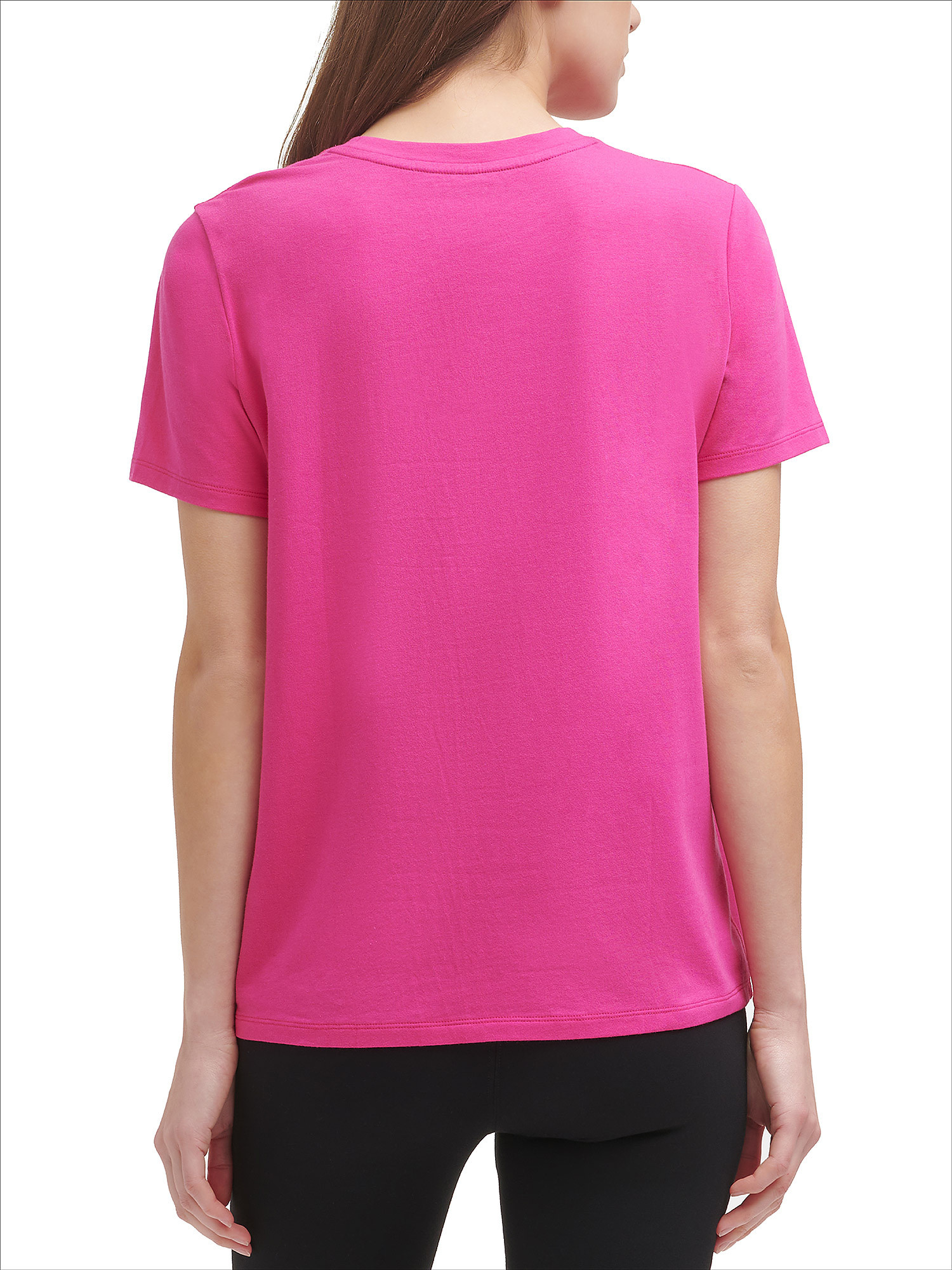T-shirt con logo two tone, Rosso, large image number 3