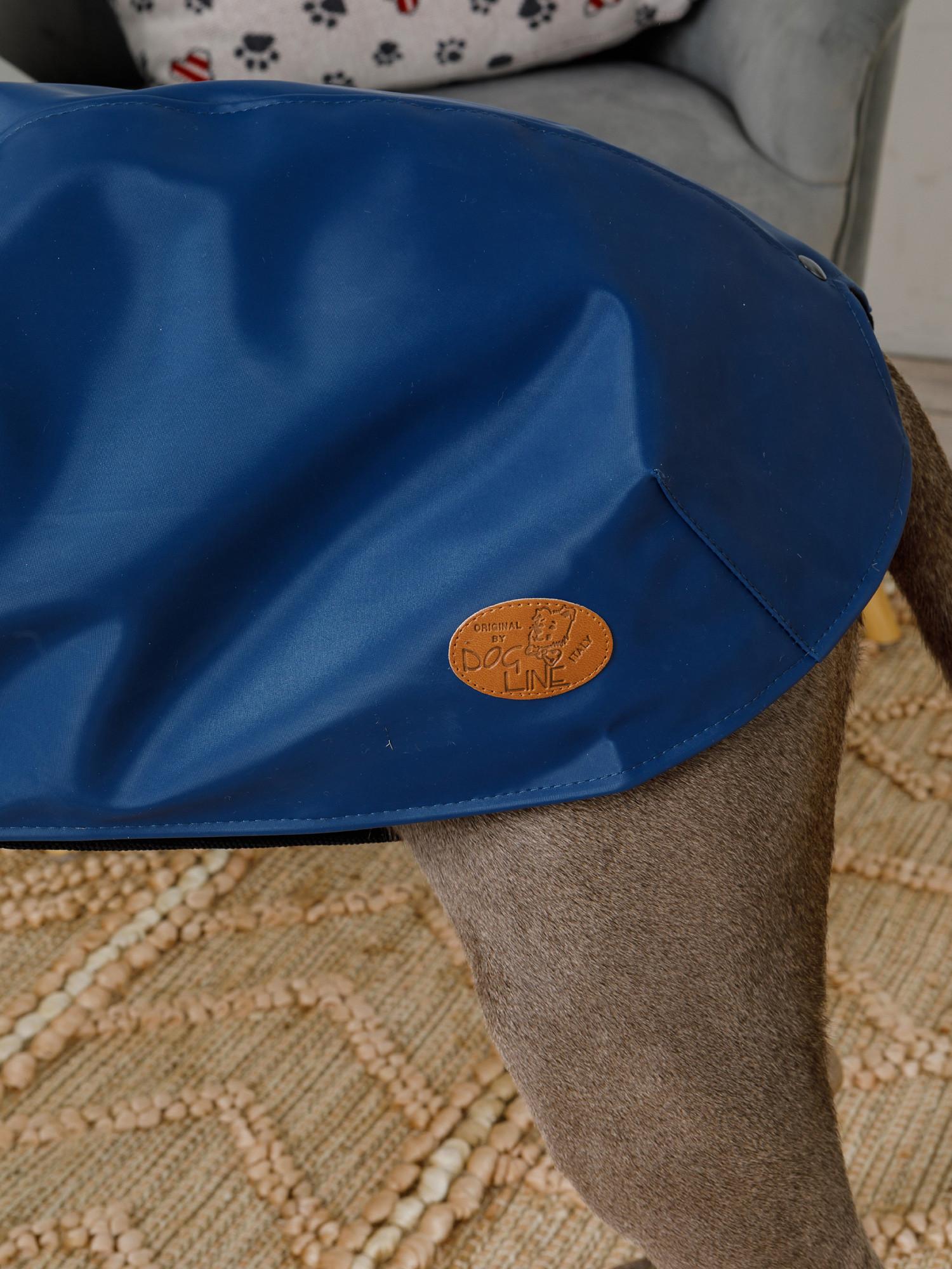 Cappottino tessuto impermeabile traspirante London, Blu, large image number 3