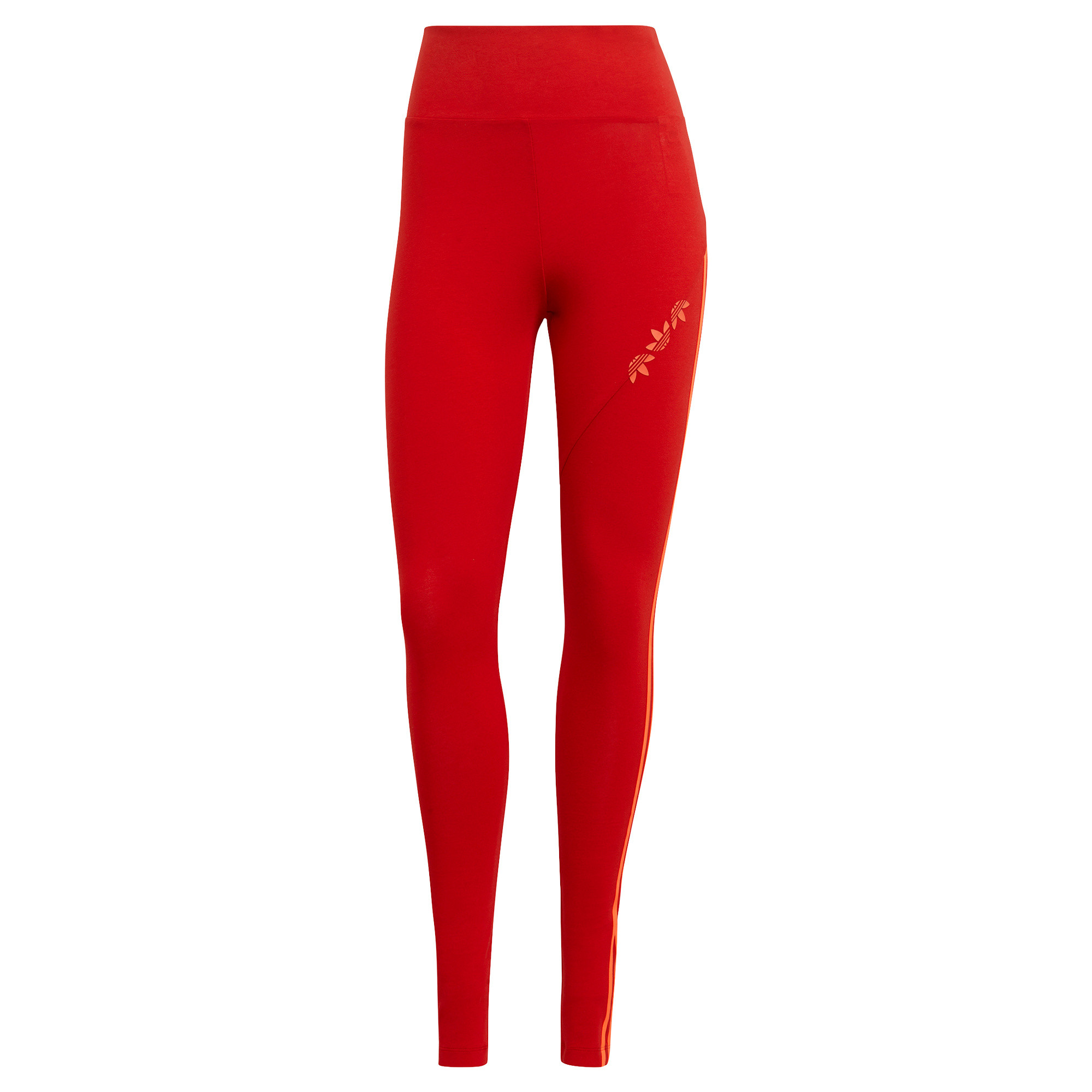 Tight adicolor Sliced Trefoil High-Waisted, Rosso, large image number 0