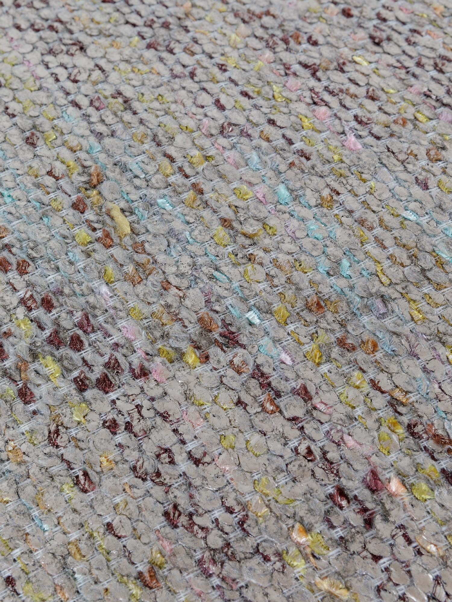 Cuscino tessuto effetto metallico 50x50cm, Multicolor, large image number 2