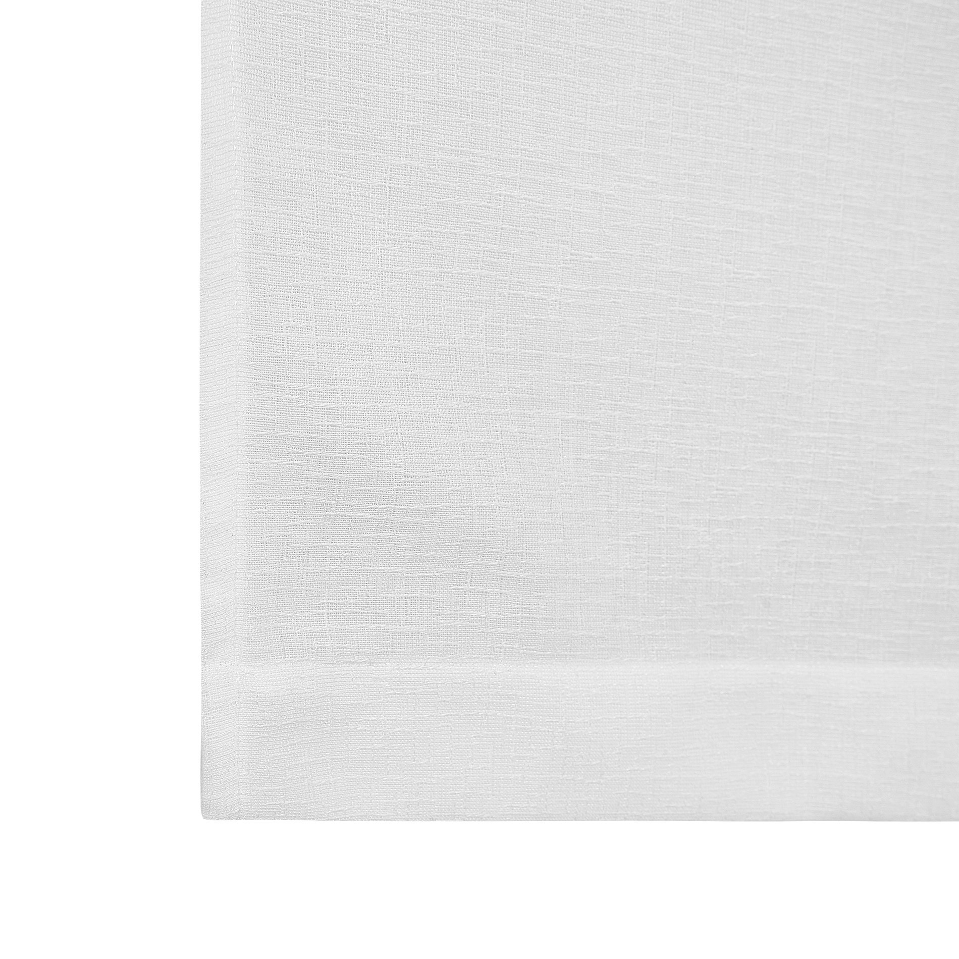 Tendina effetto fiammato tinta unita, Bianco, large image number 3