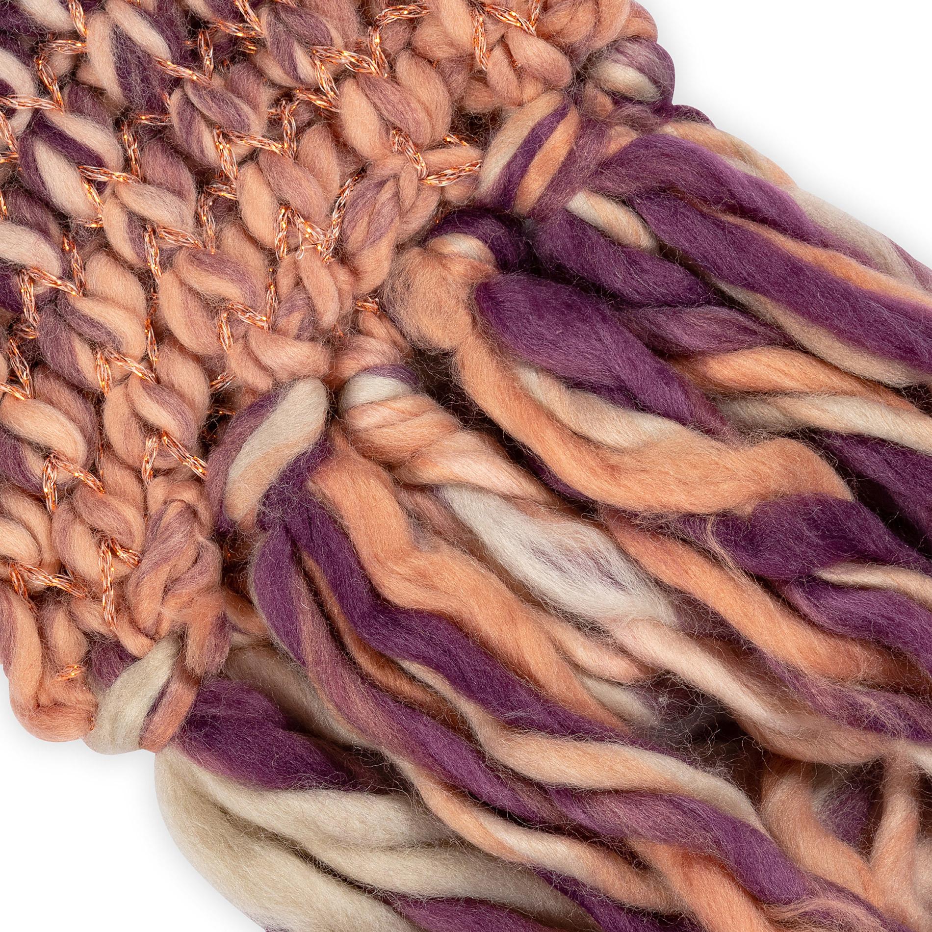 Sciarpa tessuto intrecciato Koan, Arancione, large image number 1