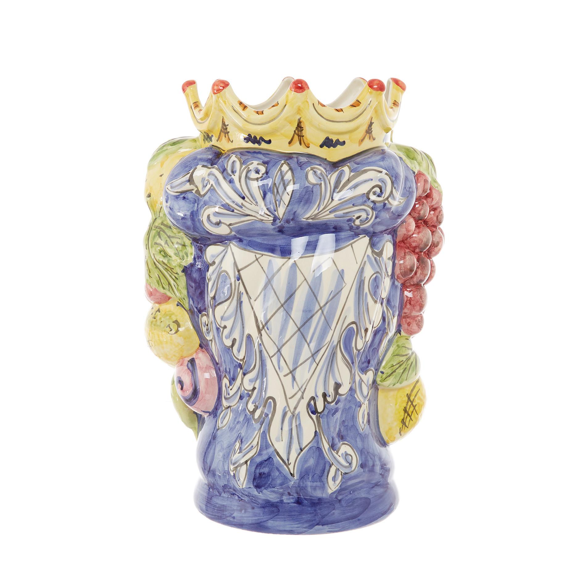 Testa di moro tradizionale by Ceramiche Siciliane Ruggeri, Multicolor, large image number 3
