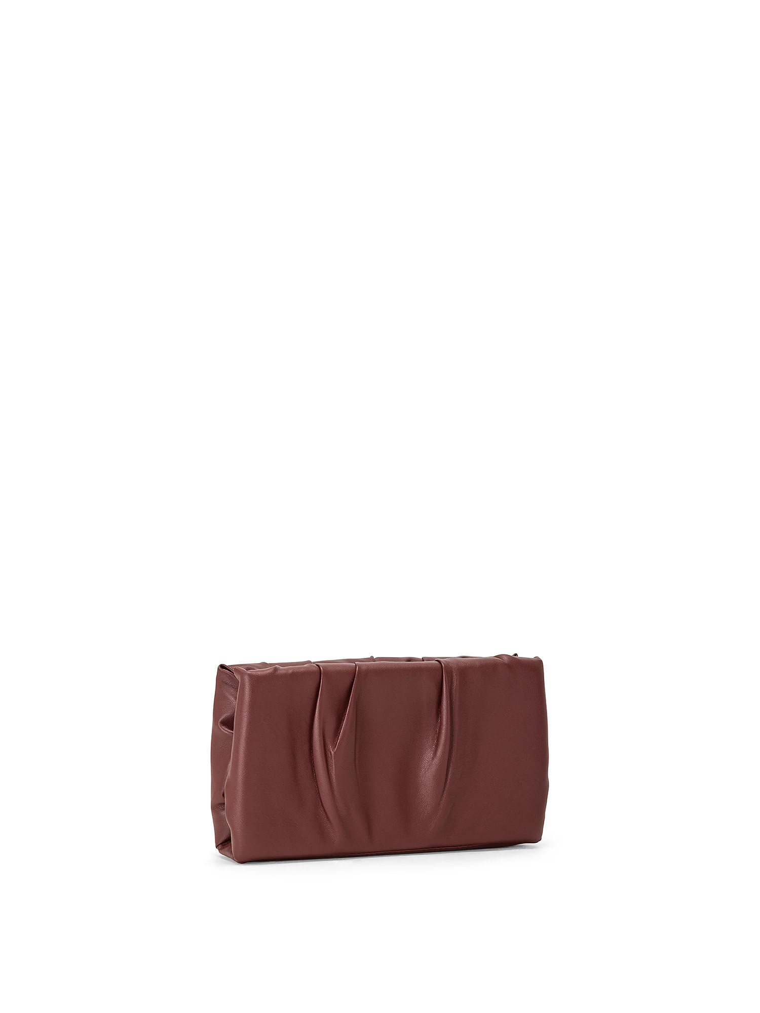 Ruched Frame Clutch, Rosso ciliegia, large image number 1