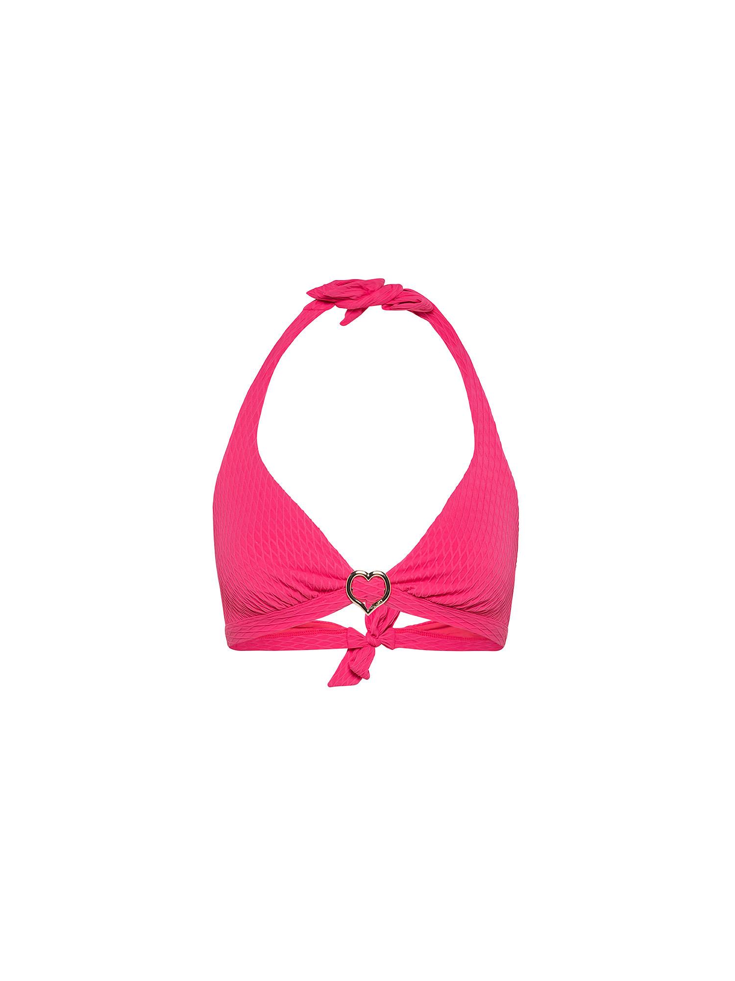 Top bikini triangolo, Rosso ciliegia, large image number 0