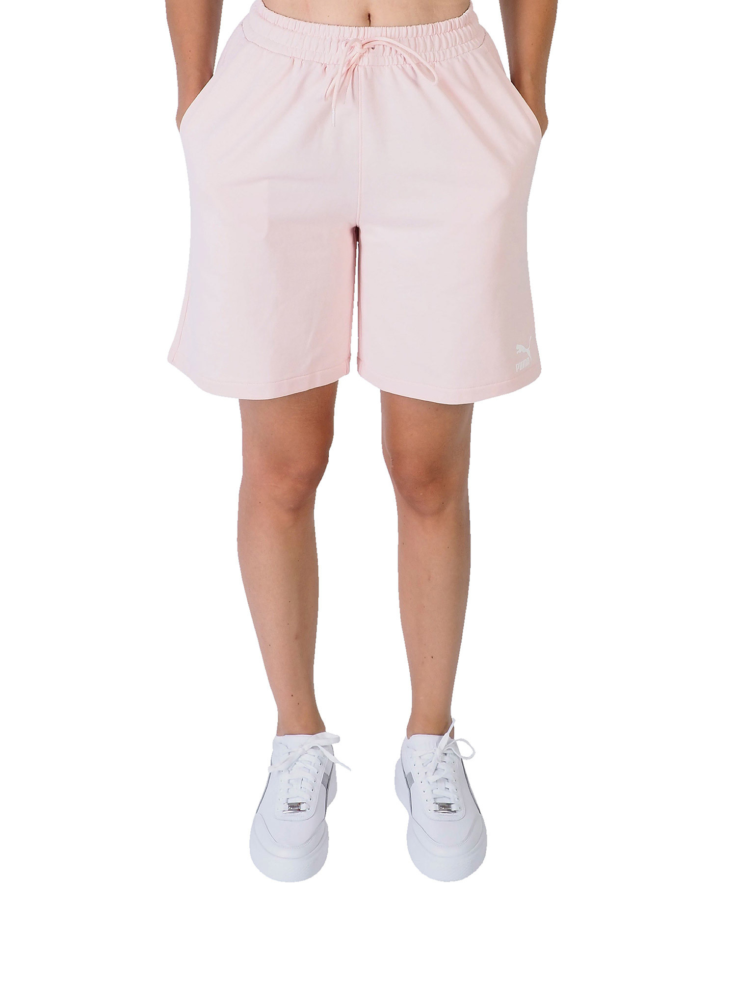 Knitted Shorts, Rosa, large image number 2