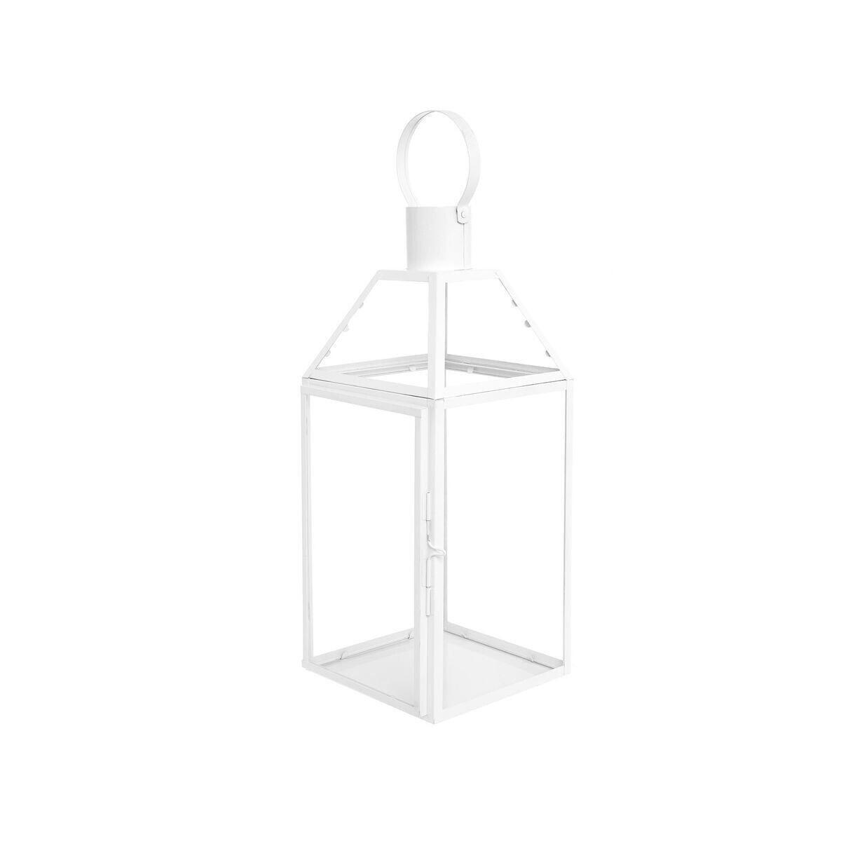 Lanterna in metallo, Bianco, large image number 0