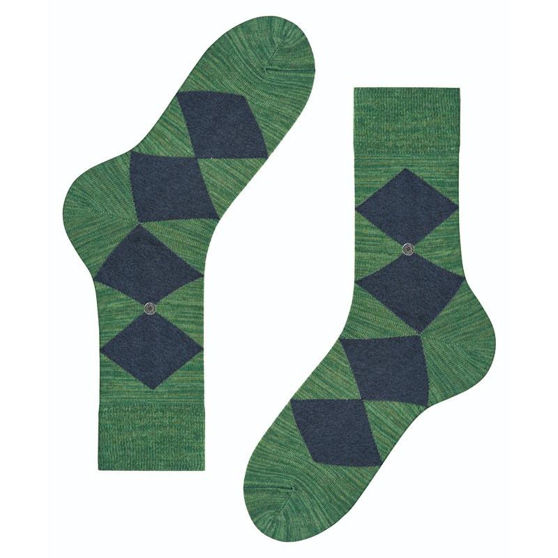 Calzini uomo Multicolour Clyde, Verde smeraldo, large image number 1