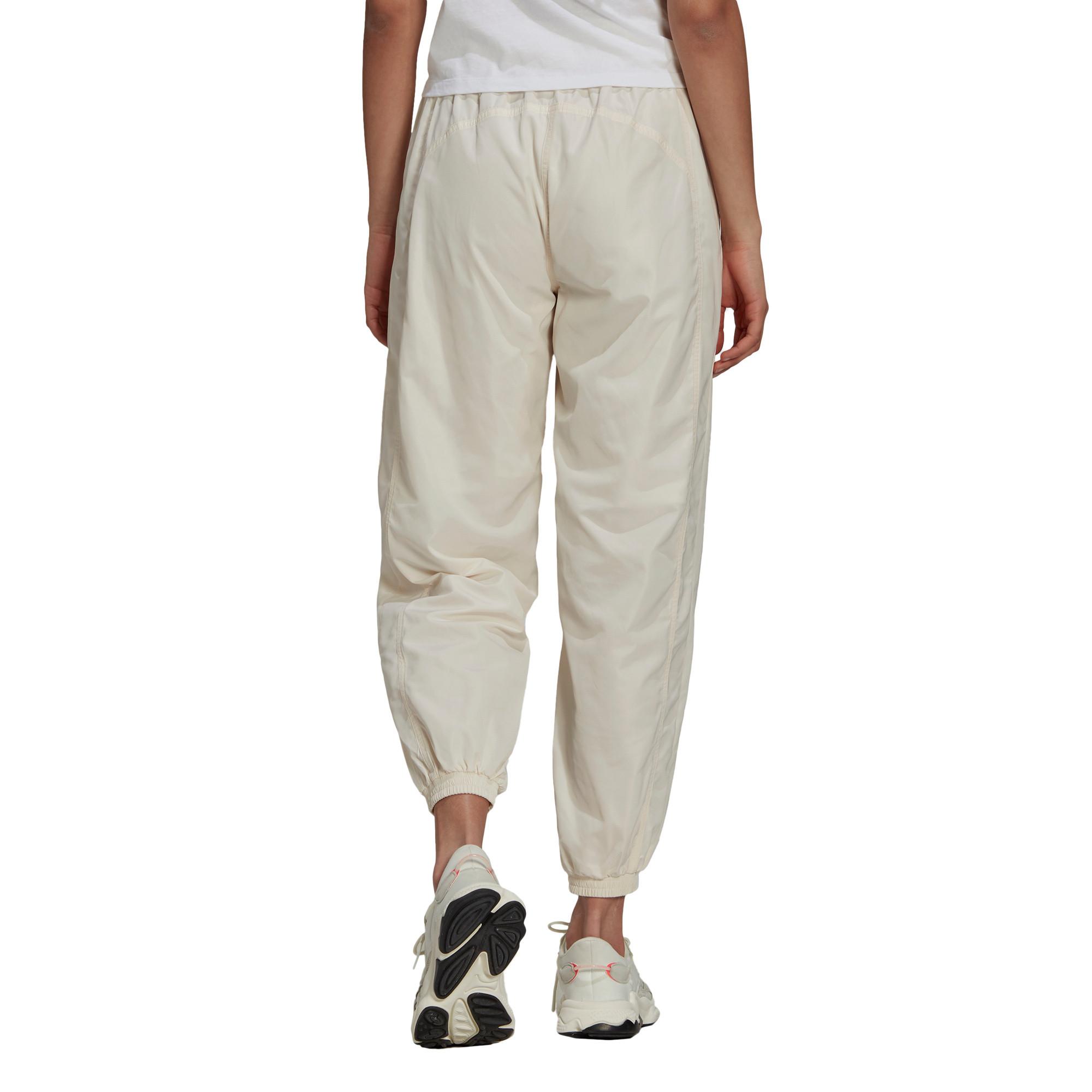 Track pants adicolor Nylon, Bianco, large image number 2