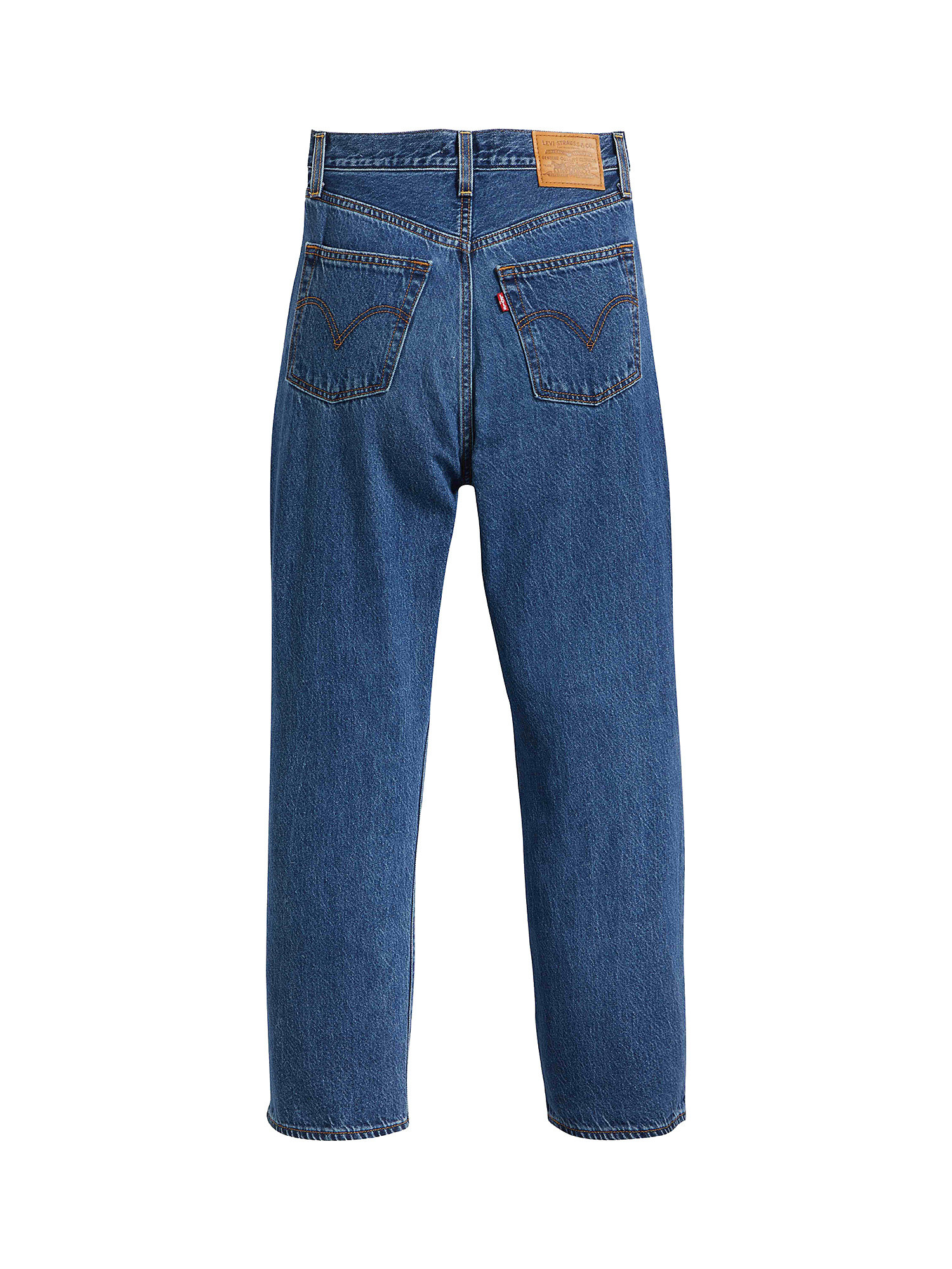 Jeans donna ribcage straight ankle, Denim, large image number 1